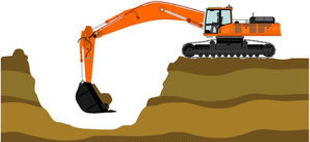 Excavating and Grading Process